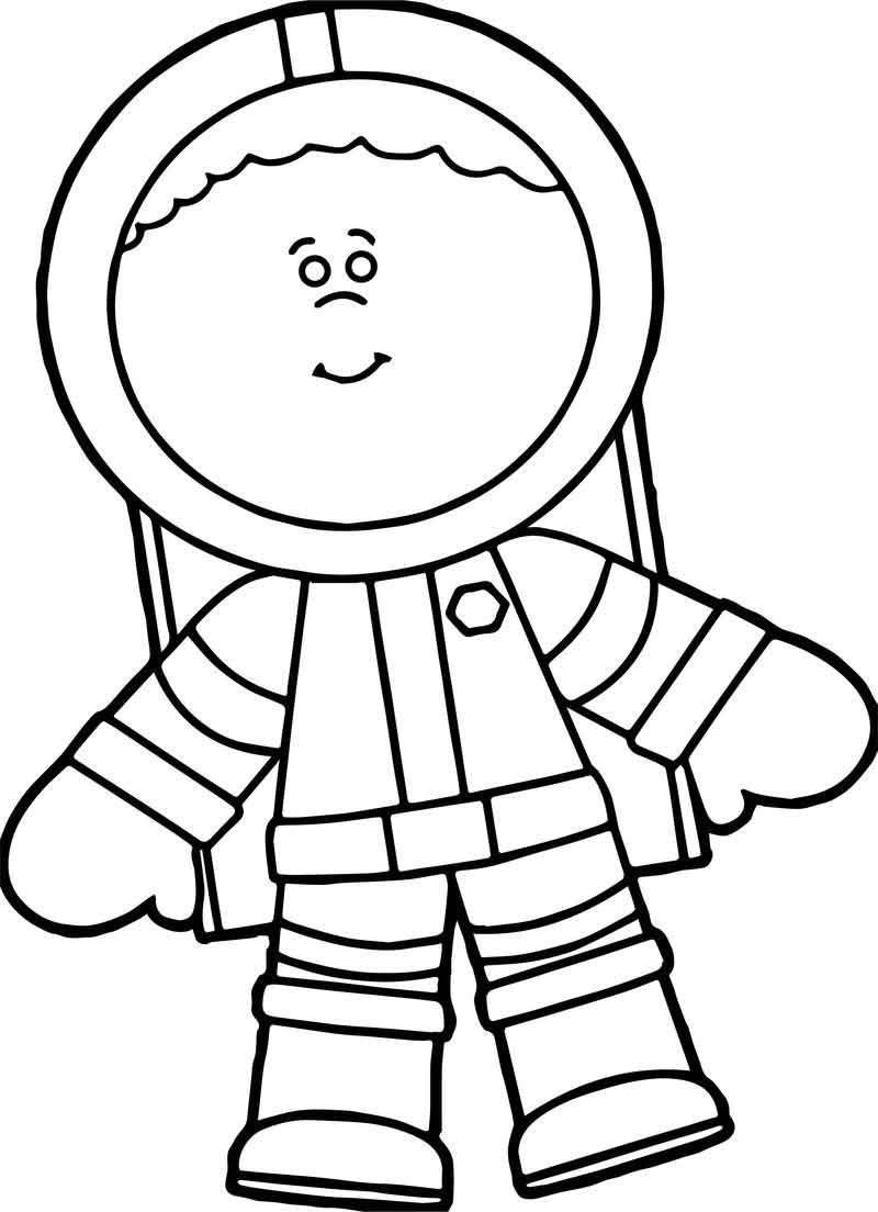 astronaut body coloring page astronaut kid new free coloring page coloring astronaut body page