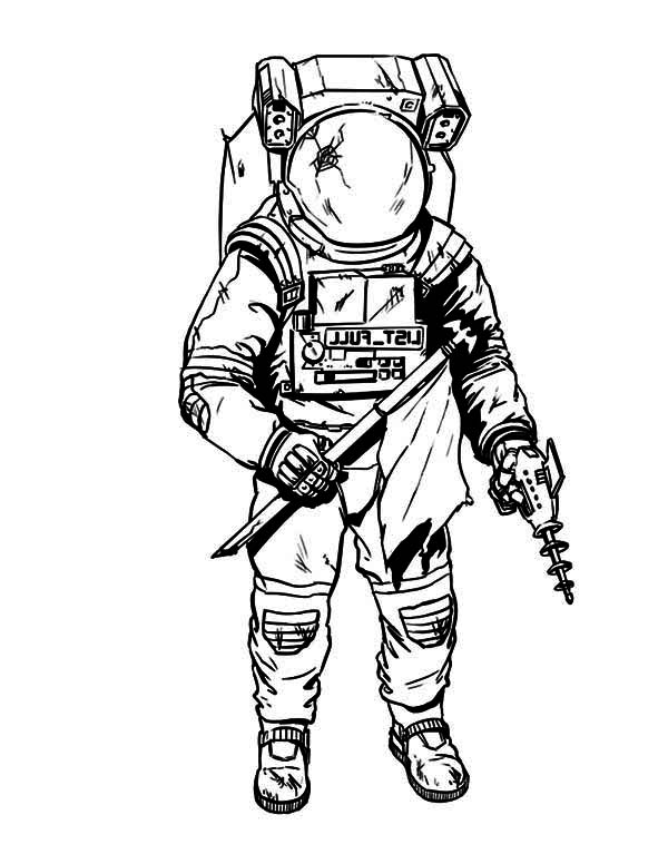 astronaut body coloring page astronaut line drawing at getdrawings free download body astronaut coloring page