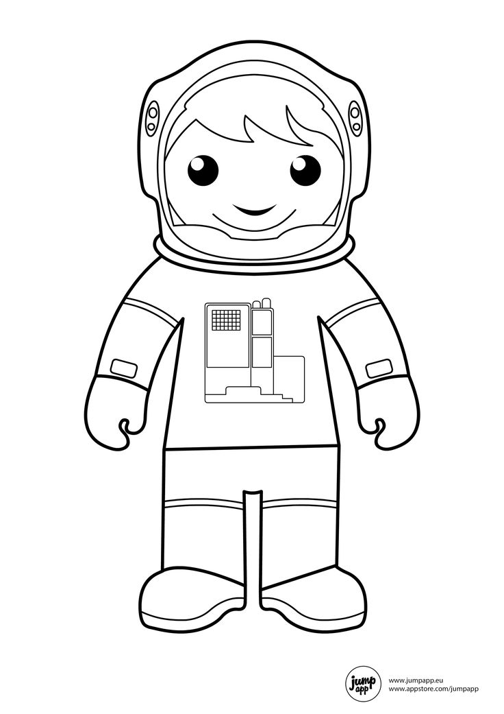 astronaut body coloring page astronaut printable coloring pages pinterest astronauts body page coloring astronaut