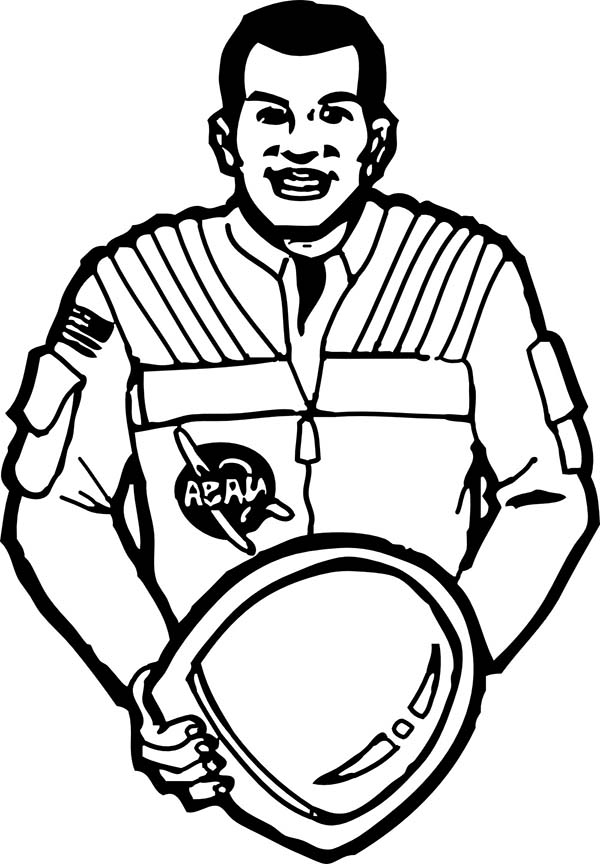 astronaut body coloring page cartoon astronaut pictures clipartsco page coloring body astronaut