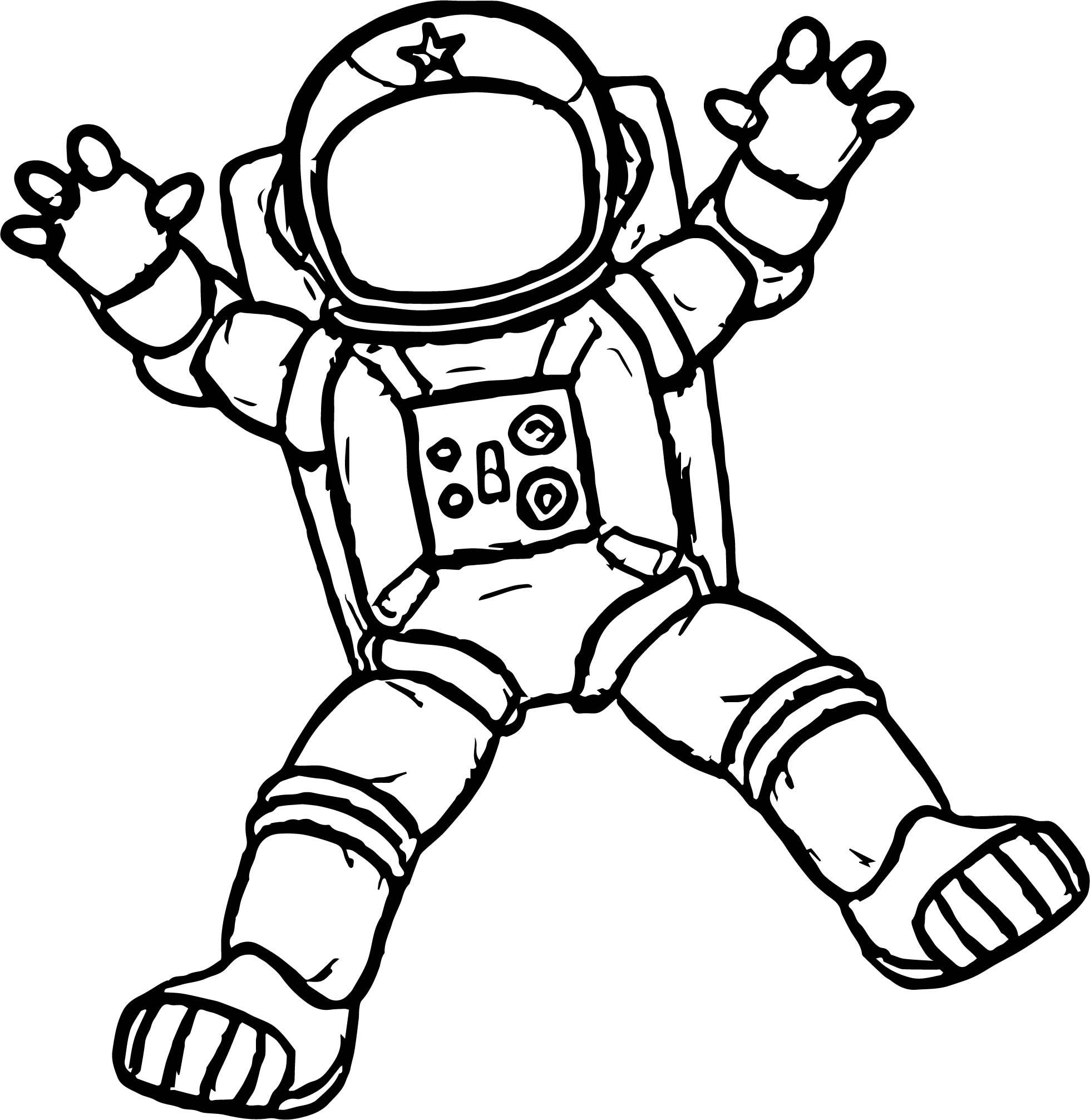 astronaut body coloring page cool astronaut holding glass coloring page space coloring page body astronaut