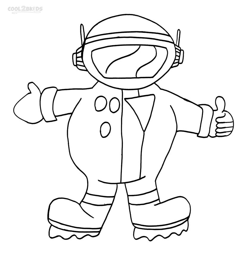 astronaut body coloring page printable astronaut coloring pages for kids cool2bkids body astronaut coloring page