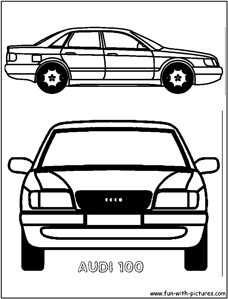audi coloring pages audi 100 coloring page pages audi coloring