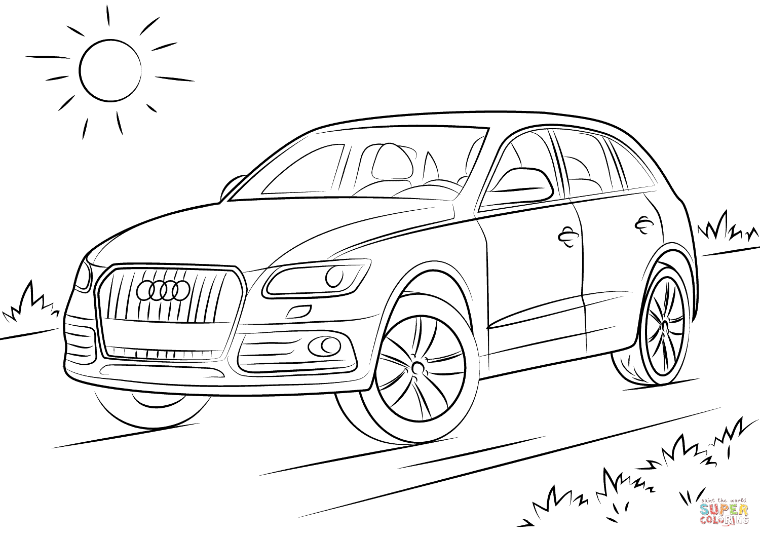 audi coloring pages audi coloring pages free printable audi coloring pages audi pages coloring