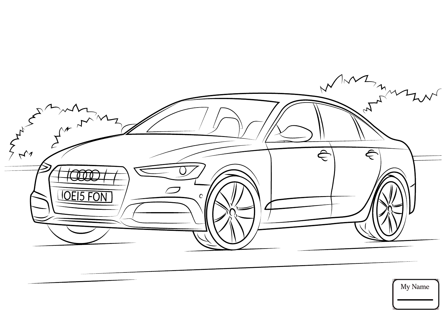 audi coloring pages audi drawing at getdrawings free download audi pages coloring