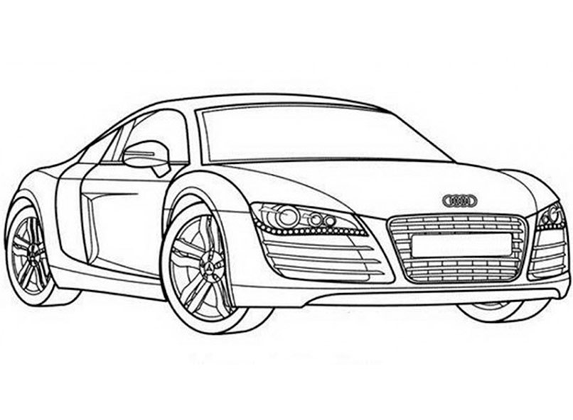 audi coloring pages audi r8 coloring pages at getdrawings free download audi pages coloring
