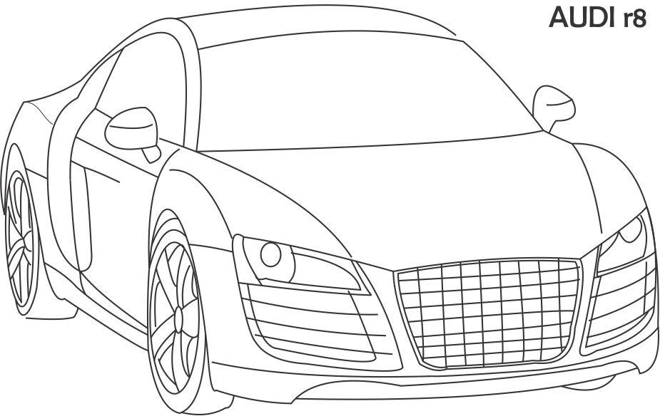 audi coloring pages download audi coloring for free designlooter 2020 pages coloring audi 1 1