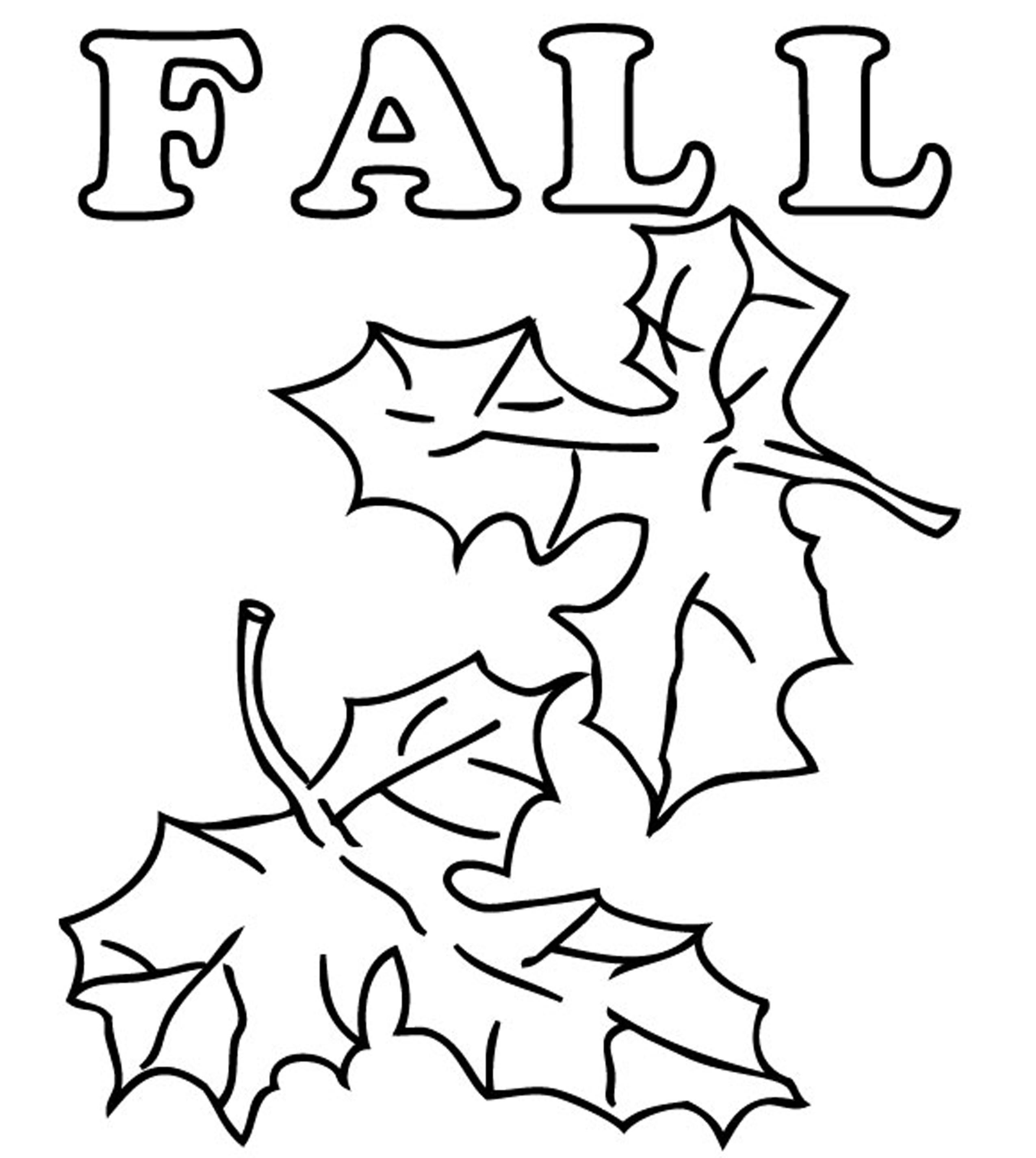 autumn leaves pictures to colour fall leaves coloring pages getcoloringpagescom leaves pictures colour autumn to