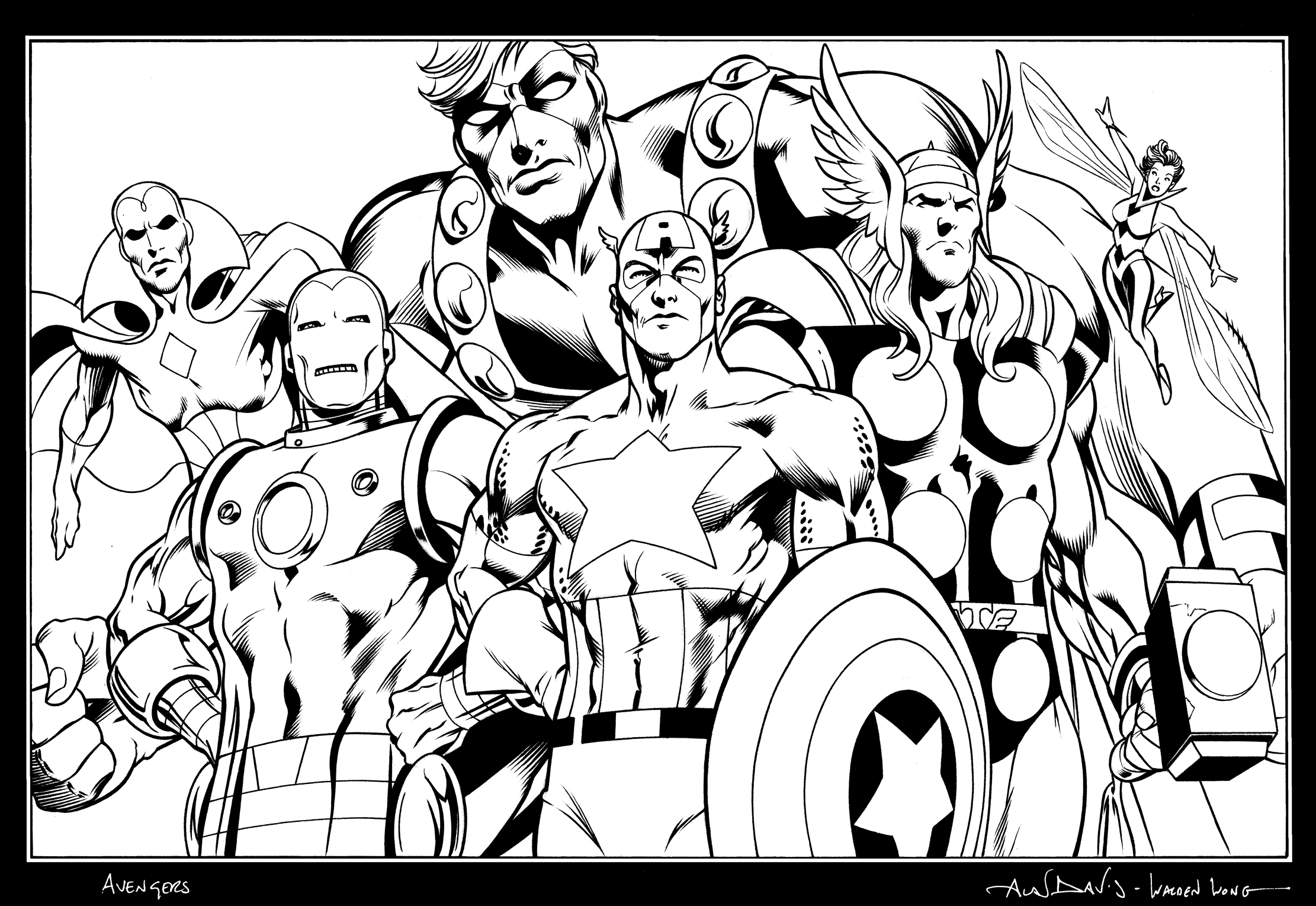 avengers coloring book pages avengers coloring pages print and colorcom coloring book avengers pages