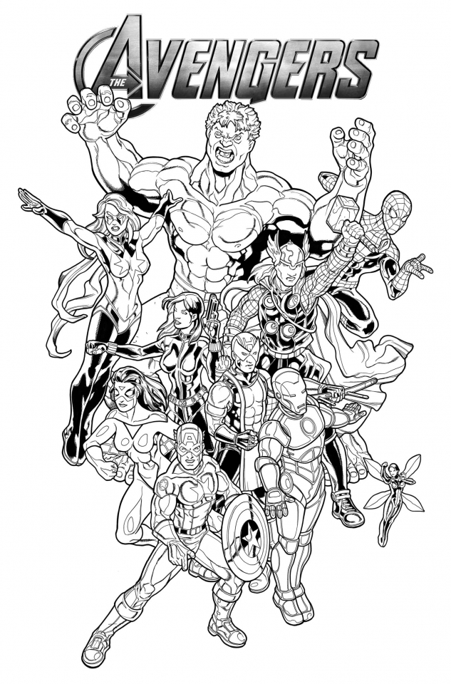 avengers coloring book pages printable coloring pages avengers printable template free coloring book pages avengers