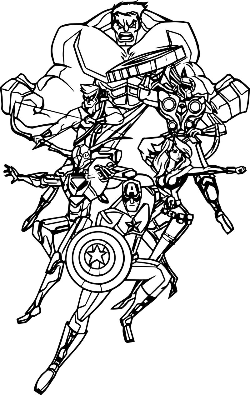 avengers coloring book pages printable the avengers coloring book and pages 02 coloring avengers pages book