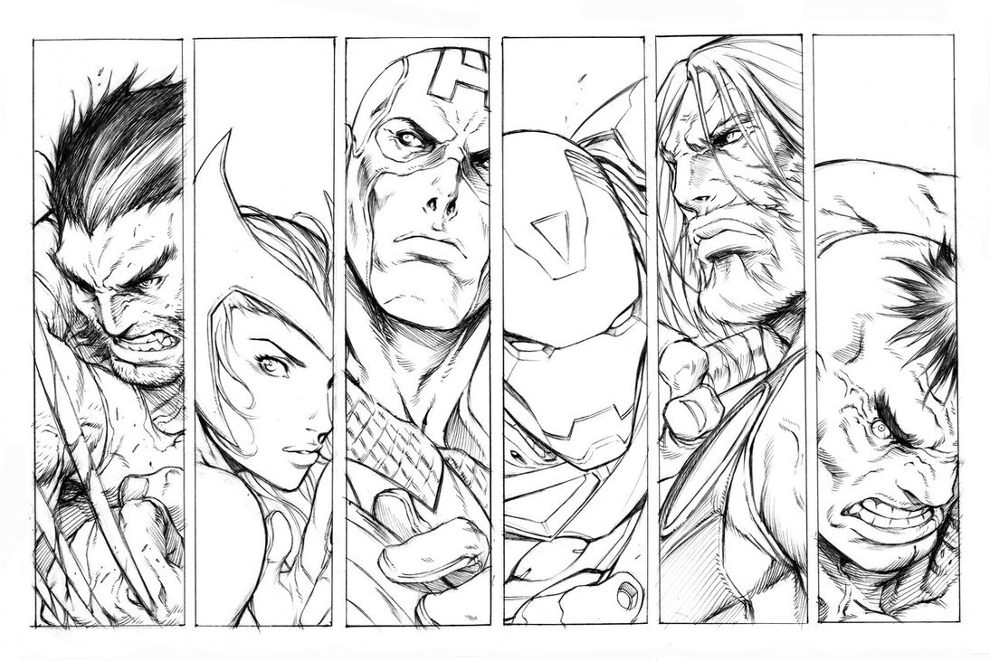 avengers coloring book pages team members of avengers coloring pages cartoons coloring book pages avengers