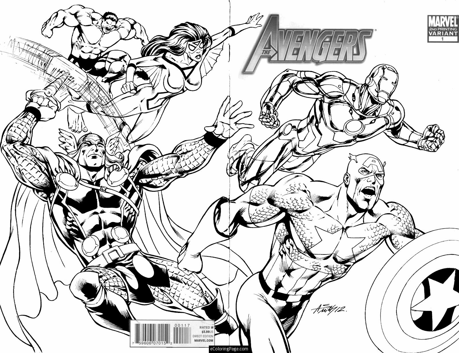 avengers coloring book pages the avengers team assemble coloring page download avengers book pages coloring