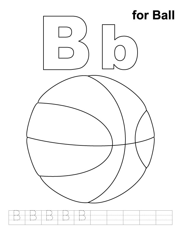 b is for ball coloring page b is for ball coloring page timeless miraclecom is page coloring for b ball