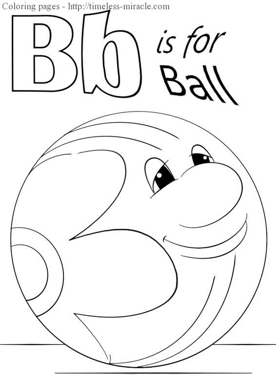 b is for ball coloring page b is for ball coloring page twisty noodle for ball page is b coloring