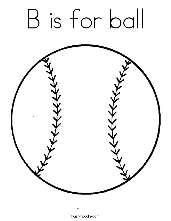 b is for ball coloring page b is for ball coloring page worksheet englishbix is b page for ball coloring