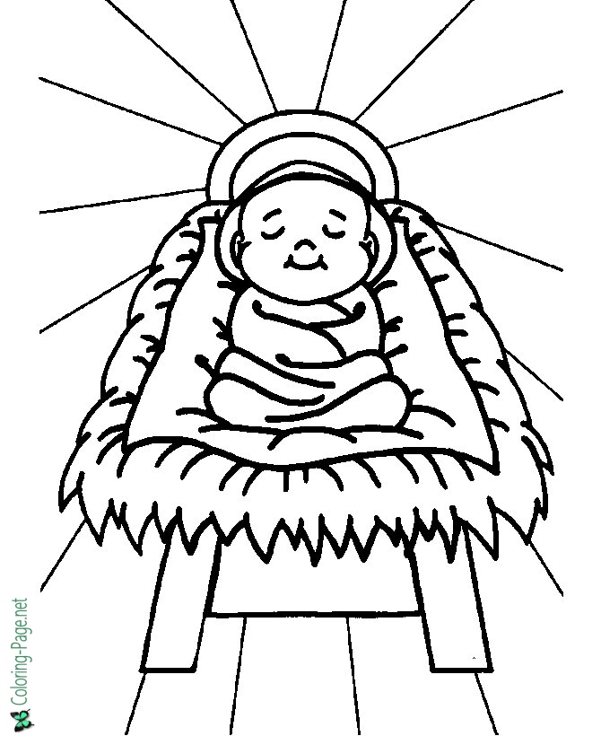 baby jesus coloring pictures birth of jesus coloring page free download on clipartmag baby pictures coloring jesus