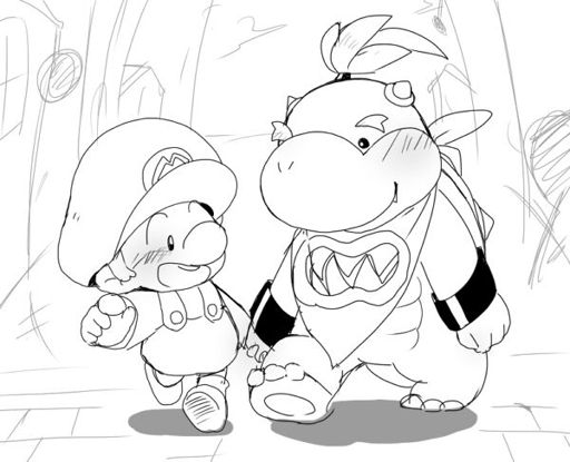 baby mario baby mario coloring pages free coloring pages and mario baby