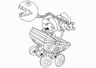 baby mario mario colouring pages for your childrens amusement the mario baby