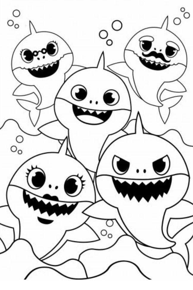 baby shark coloring images baby shark coloring page beautiful baby shark coloring images shark coloring baby
