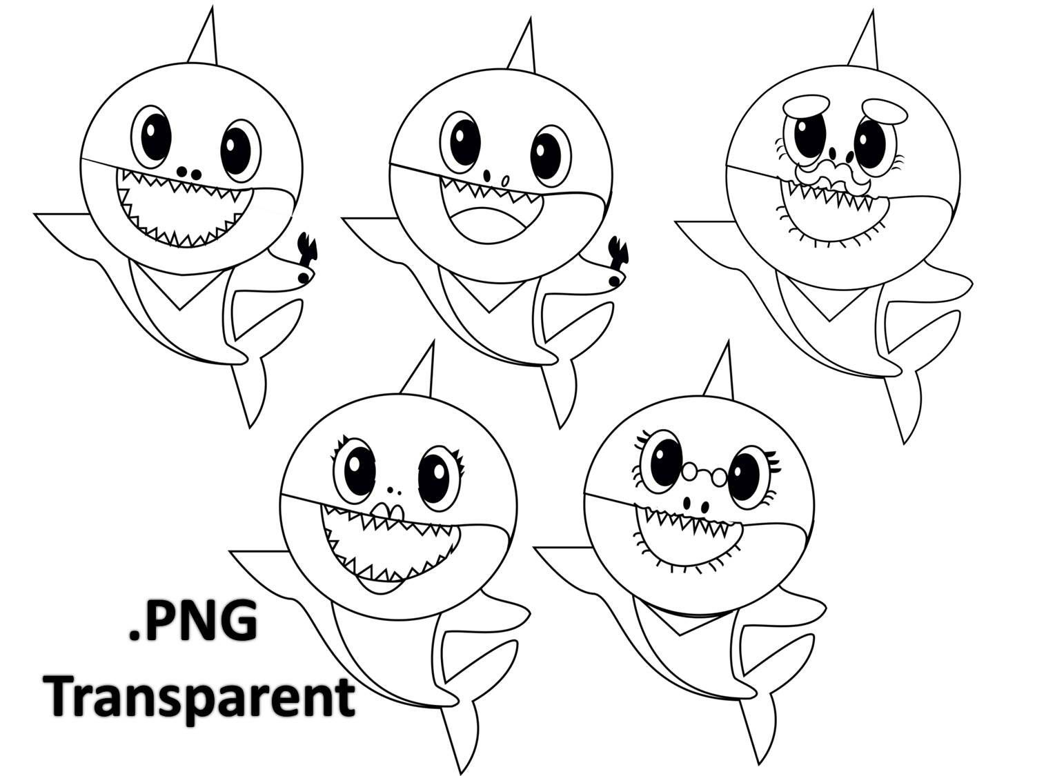 baby shark coloring images get this baby shark coloring pages 31672 coloring shark baby images