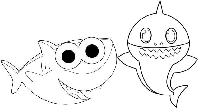 baby shark coloring images get this baby shark coloring pages 48850 baby shark coloring images