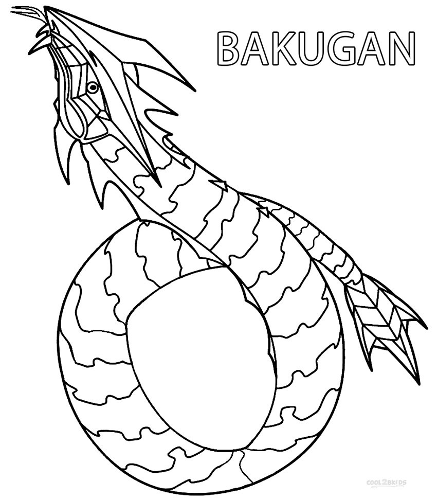 bakugan coloring sheet bakugan coloring pages for kids printable free sheet coloring bakugan