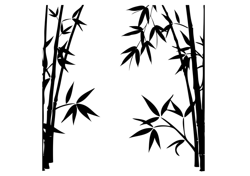 bamboo forest drawing abstract pattern bamboo forest white drawing of bamboo forest bamboo drawing