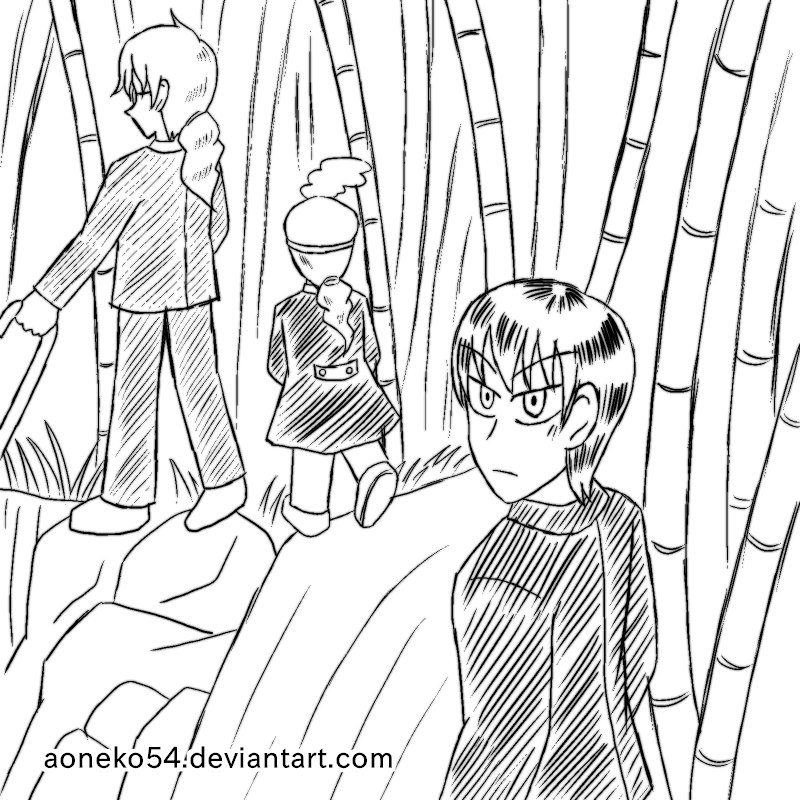 bamboo forest drawing bamboo grove forest black white dashed stock illustration drawing bamboo forest