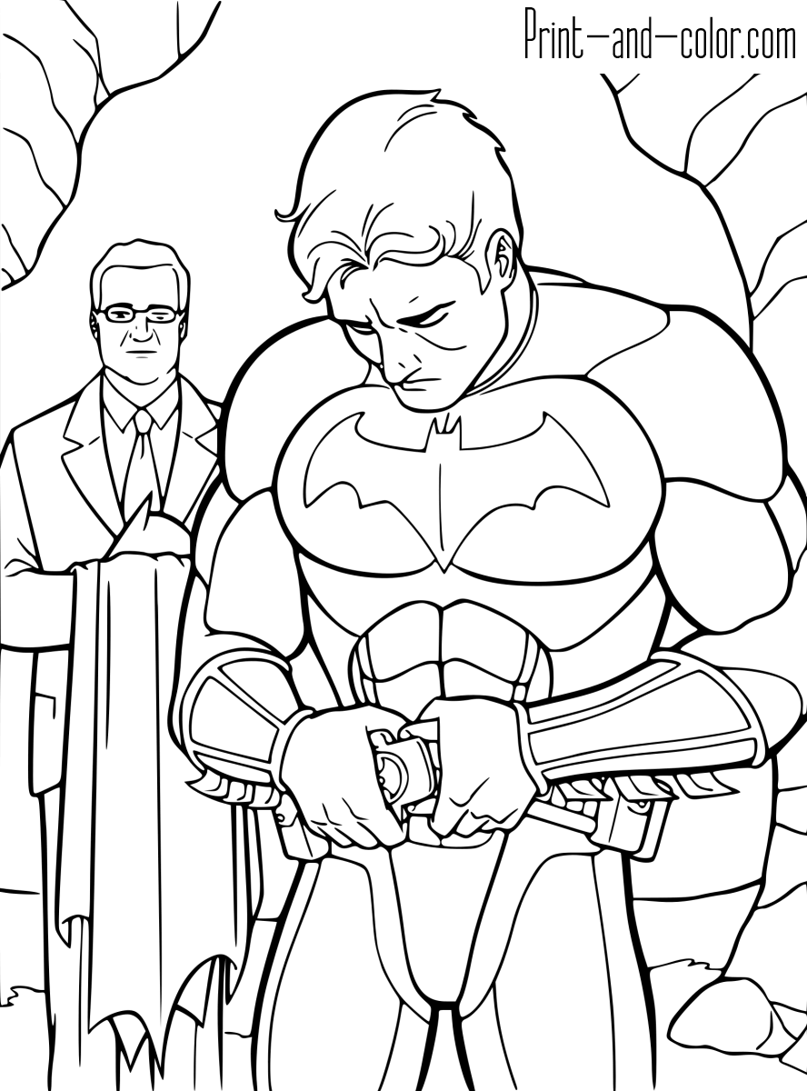 batman pictures to colour in evil fighter batman coloring pages 34 pictures crafts and colour batman in pictures to