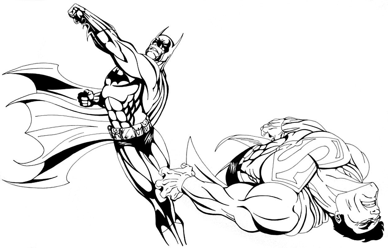 batman superman coloring pages coloring town coloring superman batman pages