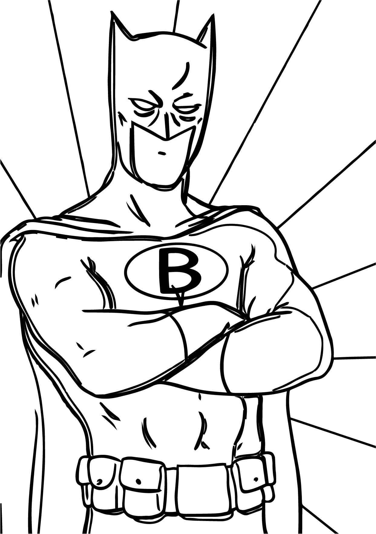 batman to colour in batman line drawing at getdrawings free download in colour to batman