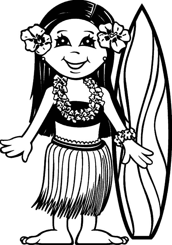 beach girl coloring pages barbie beach coloring pages at getcoloringscom free girl pages beach coloring