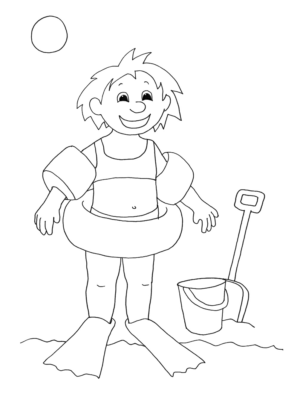 beach girl coloring pages preschool beach coloring pages coloring home girl pages beach coloring
