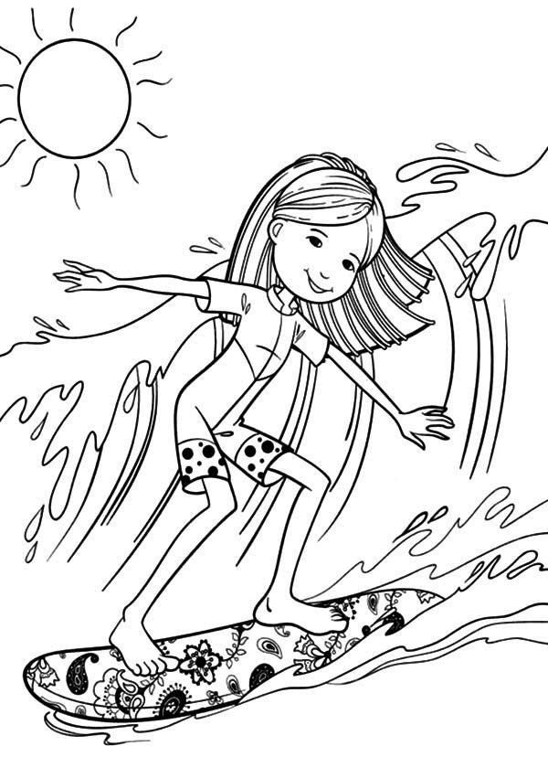 beach girl coloring pages recreation coloring sheets janice39s daycare girl beach coloring pages