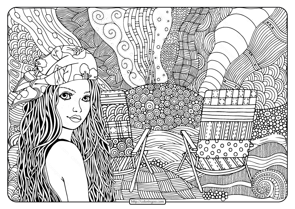 beach girl coloring pages surfer girl coloring page free printable coloring pages girl coloring beach pages