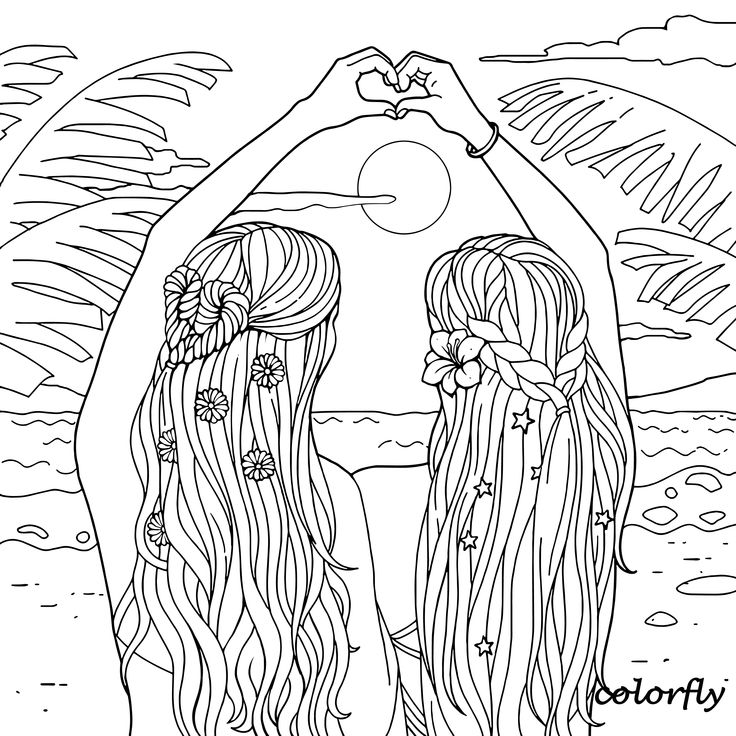 beach girl coloring pages this little girl collecting seashells from the beach sand pages beach girl coloring