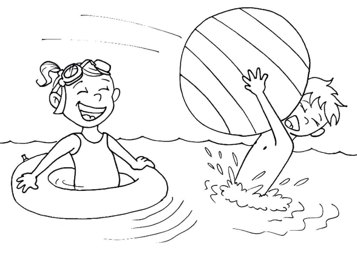 beach picture for coloring 25 free printable beach coloring pages coloring for beach picture