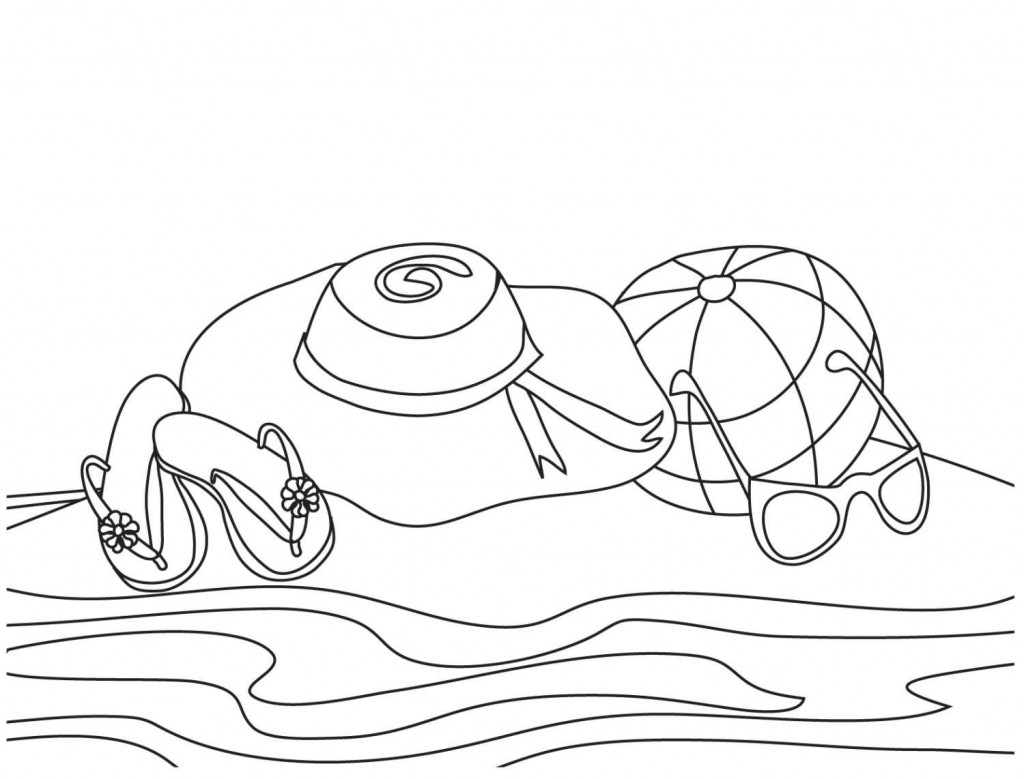 beach picture for coloring free printable beach coloring pages for kids for coloring beach picture