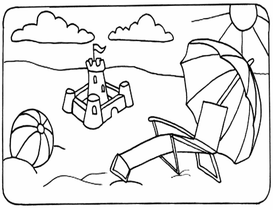 beach picture for coloring fun coloring pages beach coloring pages picture beach coloring for
