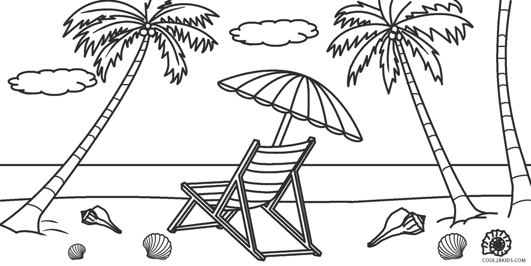 beach picture for coloring tropical beach by artsashina coloring pages printable coloring for beach picture