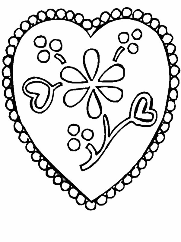 beautiful flower heart coloring pages coloring pages for kids by mr adron flower hearts kid39s coloring heart pages beautiful flower