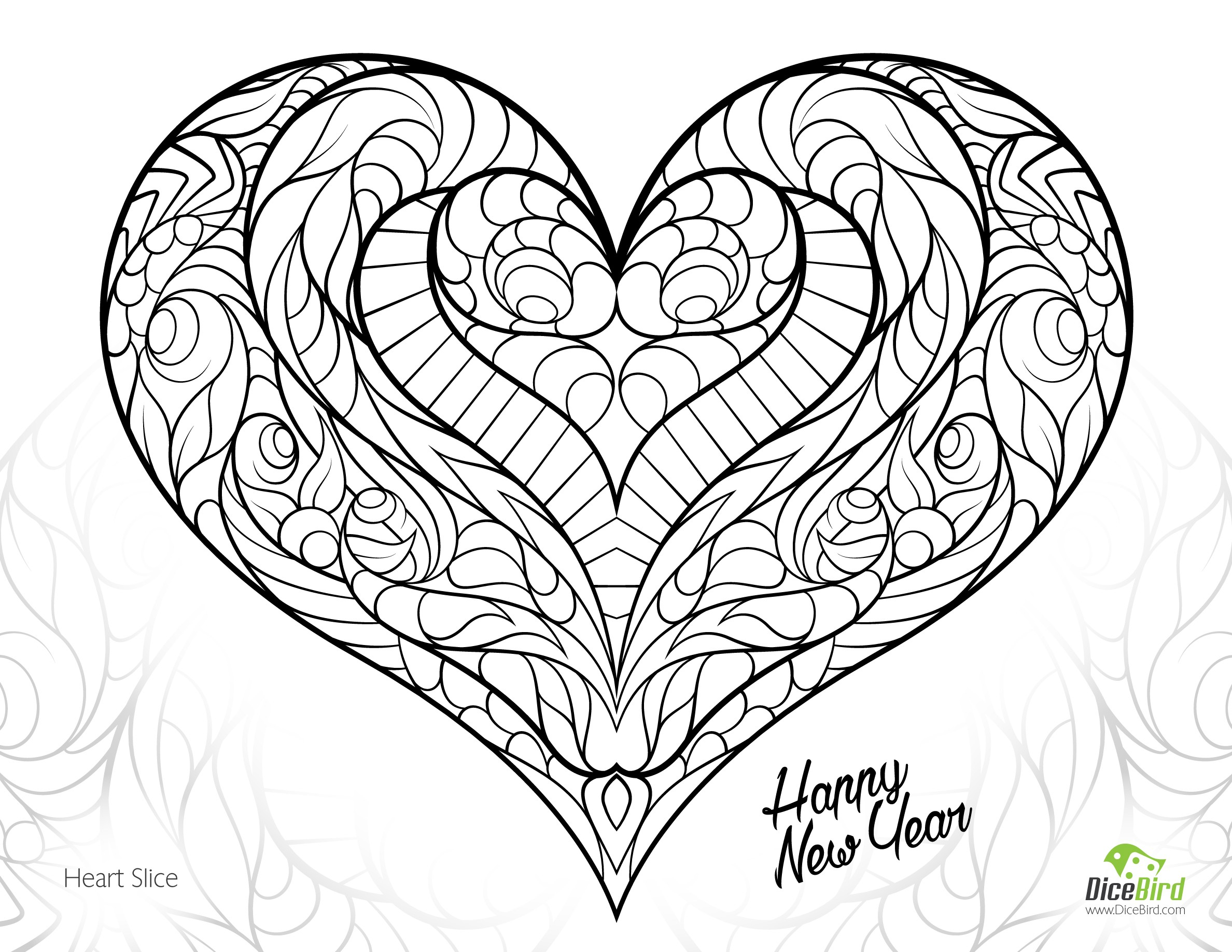 beautiful flower heart coloring pages hearts and roses in the vase coloring page color luna coloring heart flower beautiful pages
