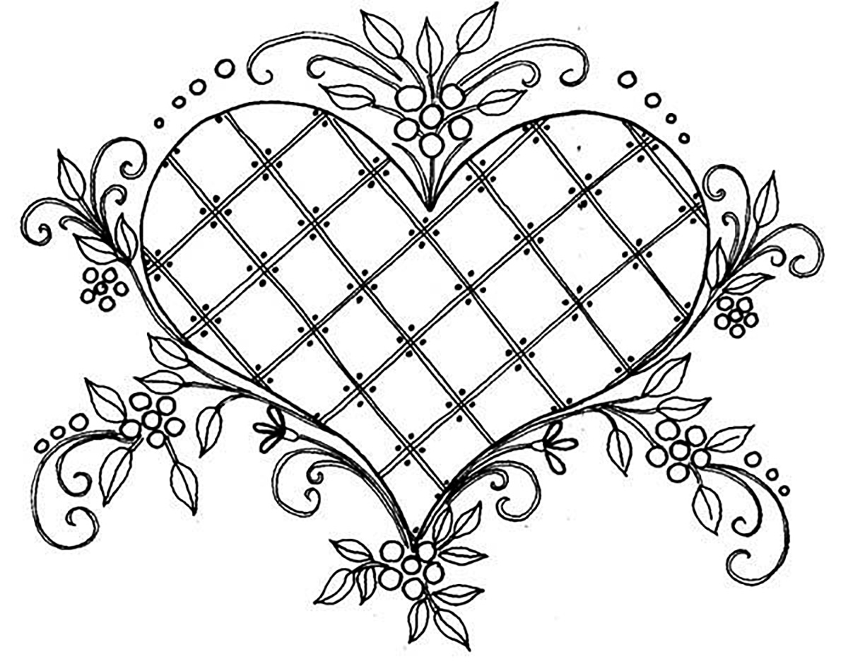 beautiful flower heart coloring pages love beautiful drawing vintage adult coloring pages heart flower beautiful pages coloring