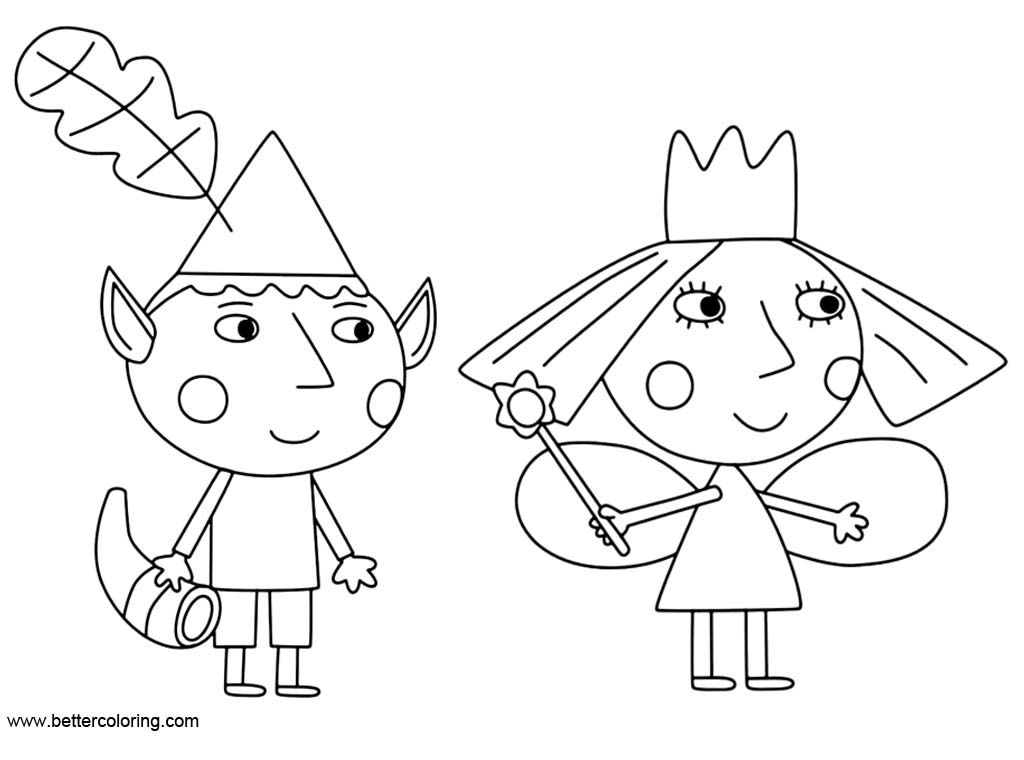 ben and holly coloring ben and holly coloring pages black and white free ben holly coloring and