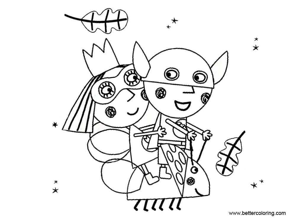 ben and holly coloring ben and holly coloring pages characters free printable holly coloring ben and