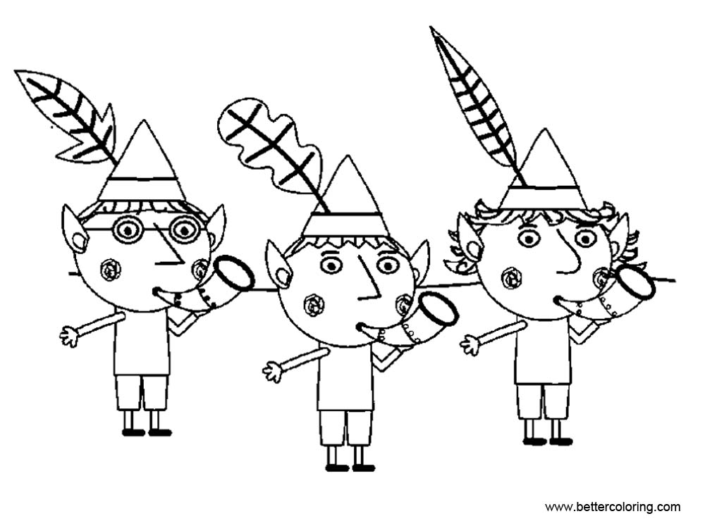 ben and holly coloring ben and holly coloring pages outline free printable ben coloring and holly