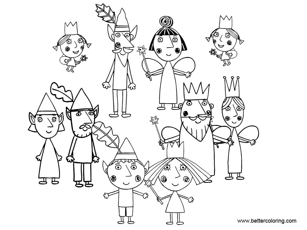ben and holly coloring ben and holly coloring pages with giants free printable ben and coloring holly
