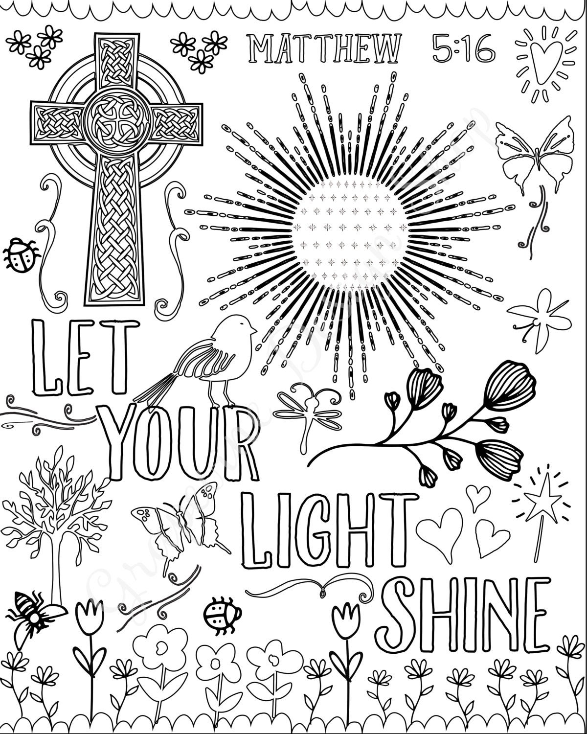 biblical coloring pages bible verse coloring pages set of 5 instant download coloring pages biblical