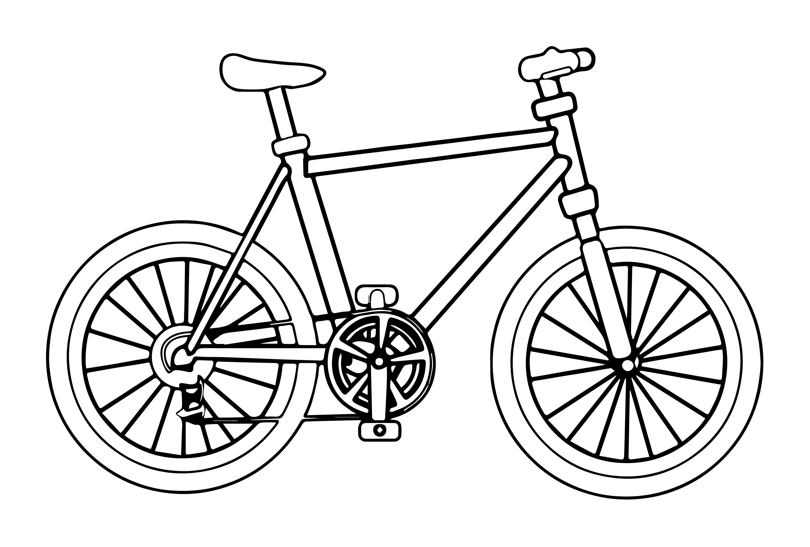 bike coloring pages bicycle coloring pages by daniel free printables pages coloring bike